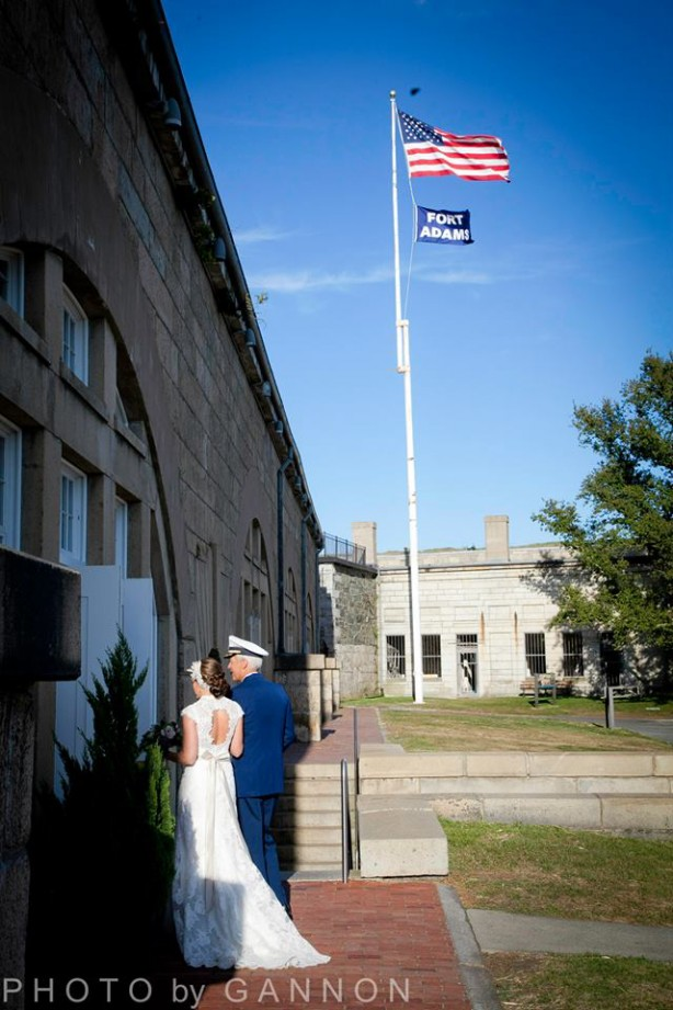 fort adams wedding