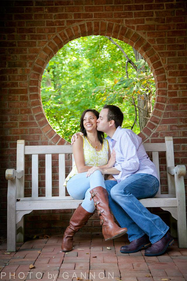 atlanta botanical garden engagement