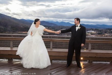 crest center wedding asheville